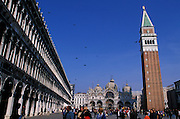 St. Mark's Basilica (Basilica di San Marco in Venezia), is the most famous of the churches of Venice, Italy. The structure is one of the best examples of Byzantine architecture in the world. The building was also nicknamed Chiesa d'Oro ( church of gold ) due to it's lavish design and gilded Byzantine mosaics. The church dates back to 828 A.D and the basilica was consecrated in 1094 A.D...Subject photograph(s) are copyright Edward McCain. All rights are reserved except those specifically granted by Edward McCain in writing prior to publication...McCain Photography.211 S 4th Avenue.Tucson, AZ 85701-2103.(520) 623-1998.mobile: (520) 990-0999.fax: (520) 623-1190.http://www.mccainphoto.com.edward@mccainphoto.com.