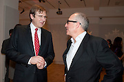 ROBERT BROOKS; ALEX LIFSCHUTZ; , Bonhams Auction house hosts festive drinks to preview the first phase of the reconstruction of its Mayfair Headquarters - due for completion in 2013.<br /> Bonhams, 101 New Bond Street, London, 19 December 2011.