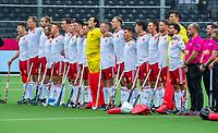 ANTWERP - BELFIUS EUROHOCKEY Championship.   England v Wales (2-2)  men . line up England. WSP/ KOEN SUYK