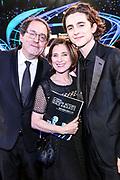 Marc Chalamet, Nicole Chalamet, and Timothee Chalamet