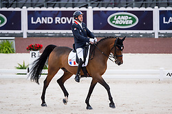 Samuel Catel, (FRA), Mogador de Valange - Team Competition Grade III Para Dressage - Alltech FEI World Equestrian Games™ 2014 - Normandy, France.<br /> © Hippo Foto Team - Jon Stroud <br /> 25/06/14