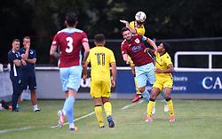 Lewis Leigh-Gilchrist of Bristol Rovers heads the ball - Mandatory by-line: Paul Knight/JMP - 18/07/2017 - FOOTBALL - Viridor Stadium - Taunton, England - Taunton Town v Bristol Rovers XI - Pre-season friendly