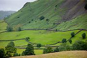 Lakeland scene near Grasmere in the Lake District National Park, Cumbria, UK