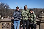 NEW YORK  2020V10<br /> <br /> Familjefoto i Central Park.<br /> <br /> Foto: Per Danielsson/Projekt.P