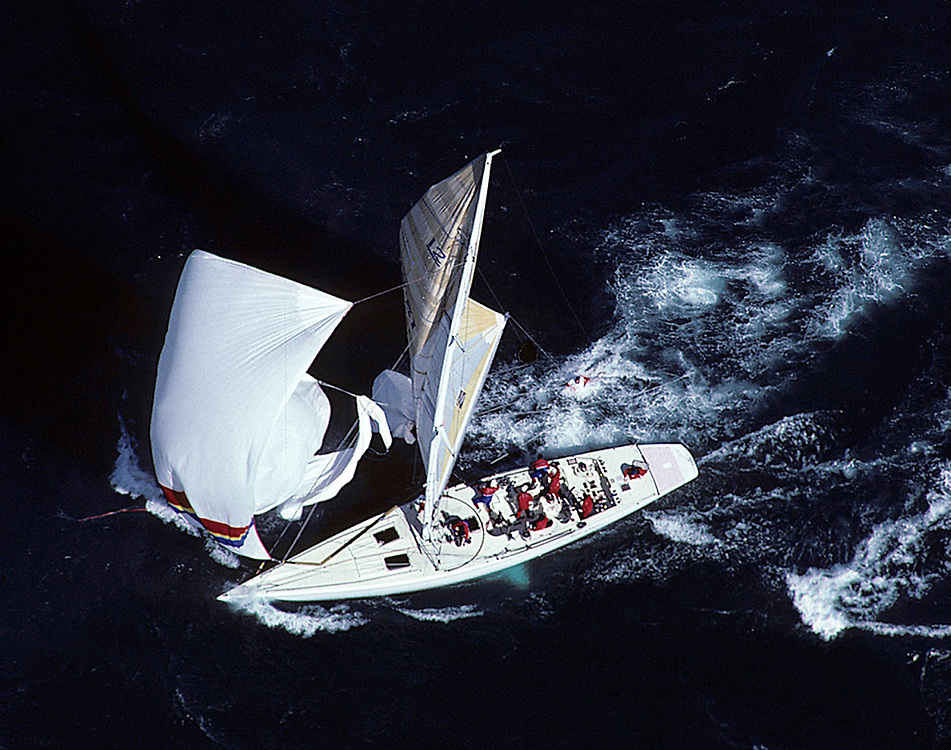 1987 America's Cup. Buddy Melges<br /> Yacht: Heart of America