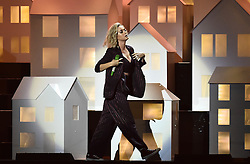 Katy Perry on stage at the BRIT Awards 2017, held at The O2 Arena, in London.<br /><br />Picture date Tuesday February 22, 2017. Picture credit should read Matt Crossick/ EMPICS Entertainment. Editorial Use Only - No Merchandise.
