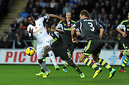 Swansea city's Roland Lamah in action. Barclays Premier league, Swansea city v Stoke city at the Liberty Stadium in Swansea, South Wales on Sunday 10th November 2013. pic by Andrew Orchard, Andrew Orchard sports photography,