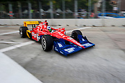 September 1-3, 2011. Dario Franchitti,  Indycar Grand Prix of Baltimore around the inner harbor.
