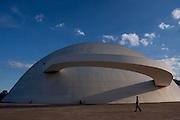 Brasilia_DF, Brasil..Museu Nacional de Brasilia, conhecido tambem como Museu Nacional Honestino Guimaraes, localizado na Esplanada dos Ministerios, em Brasilia, Distrito Federal..Museu Nacional de Brasilia, also known as the National Museum Honestino Guimaraes, located in the Esplanada dos Ministerios, Brasilia, Distrito Federal.. Foto: MARCUS DESIMONI / NITRO