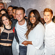 NLD/Amsterdam/20160506 - Première Armin Only Embrace, dansers Armin met Armin van Buuren en Kensington