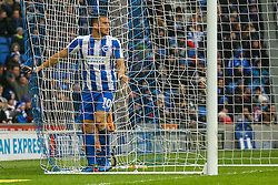 Tomer Hemed of Brighton & Hove Albion narrowly misses an opportunity on goal - Mandatory by-line: Jason Brown/JMP - 11/02/2017 - FOOTBALL - Amex Stadium - Brighton, England - Brighton and Hove Albion v Burton Albion - Sky Bet Championship
