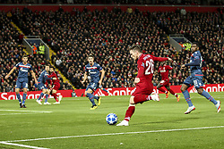 October 24, 2018 - Liverpool, England, United Kingdom - Liverpool defender Andrew Robertson (26) in action during the Uefa Champions League Group Stage football match n.3 LIVERPOOL - CRVENA ZVEZDA on 24/10/2018 at the Anfield Road in Liverpool, England. (Credit Image: © Matteo Bottanelli/NurPhoto via ZUMA Press)