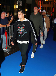 Brahim Diaz arriving for the All or Nothing: Manchester City, world premiere at Vue Printworks, Manchester.