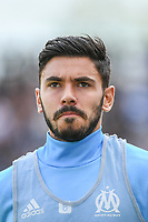 Morgan Sanson of Marseille during the Ligue 1 match between Amiens SC and Olympique Marseille at Stade de la Licorne on September 17, 2017 in Amiens, . (Photo by Anthony Dibon/Icon Sport)