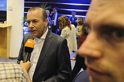 May 27, 2019 - Brussels, Brussels, Belgium - German candidate Manfred Weber (CSU) for the EPP as President of the European Commission. (Credit Image: © Nicolas Landemard/Le Pictorium Agency via ZUMA Press)