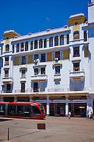Maroc, Casablanca, Boulevard Mohammed V// Morocco, Casablanca, Mohammed V boulevard