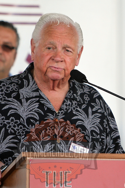 Boxing promoter Don Chargin during the 23rd Annual induction weekend opening ceremony at the International Boxing Hall of Fame on Thursday, June 7, 2012 in Canastota, NY. (AP Photo/Alex Menendez)