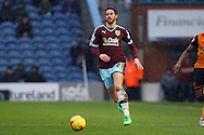 George Boyd of Burnley in action. Skybet football league Championship match, Burnley v Hull city at Turf Moor in Burnley ,Lancs on Saturday 6th February 2016.<br /> pic by Chris Stading, Andrew Orchard sports photography.