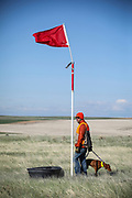 SHOT 5/9/20 8:49:27 AM - Various pointing breeds compete in the Vizsla Club of Colorado Licensed Hunt Test Premium at the Rocky Mountain Sporting Dog Club Grounds in Keenesburg, Co. (Photo by Marc Piscotty / © 2020)