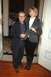JOHN & MARIANNE SWANNELL at a party to celebrate the publication of Dell'Olio's book 'My Beautiful Game' held at the Italian Embassy, Grosvenor Square, London on 17th April 2008.<br /><br />NON EXCLUSIVE - WORLD RIGHTS
