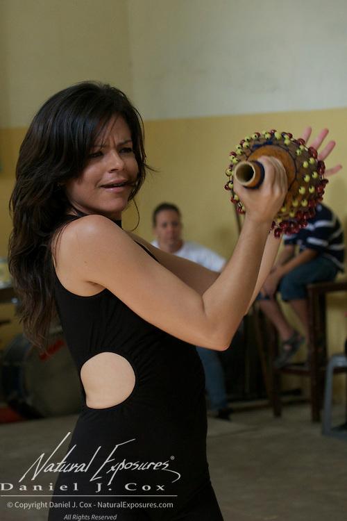 Members of the Habana Compas Dance troupe at their dance studio in Havana, Cuba.