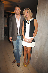 LADY ALEXANDRA SPENCER-CHURCHILL and DAVID PEACOCK at the opening of the Nina Ricci Boutique at Harvey Nichols, Knightsbridge, London on 3rd September 2007.<br />