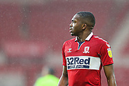 Portrait of Middlesbrough defender Anfernee Dijksteel (2) during the EFL Sky Bet Championship match between Middlesbrough and Brentford at the Riverside Stadium, Middlesbrough, England on 6 February 2021.