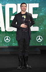 Ezra Miller attending the Justice League Photocall at The College, London. Picture credit should read: Doug Peters/Empics Entertainment