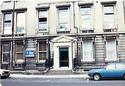 Old amateur photos of Dublin streets churches, cars, lanes, roads, shops schools, hospitals, the children hospital, Mazda 323 renault4 Custom House, Gate Theather, Protestant Church, Temple St Hospital, St Georges Church, Abbey St, GPO July 1986 July 1986