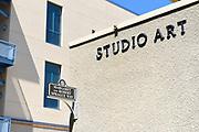 Studio Art Building on the Campus of University of California Irvine, UCI