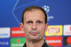 November 6, 2018 - Turin, Piedmont, Italy - Massimiliano Allegri, head coach of Juventus FC, during the press conference on the eve of the UEFA Champions League match between Juventus FC and Manchester United FC,  at Allianz Stadium on November 06, 2018 in Turin, Italy. (Credit Image: © Massimiliano Ferraro/NurPhoto via ZUMA Press)