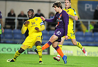 Football - 2018 / 2019 EFL Carabao Cup (League Cup) - Third Round: Oxford United vs. Manchester City<br /> <br /> Adrian Bernabe of Man City, at Kassam Stadium (Grenoble Road)<br /> <br /> COLORSPORT/ANDREW COWIE
