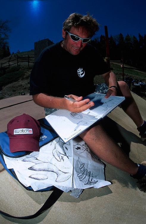 UCI mtb world cup downhill, Big Bear, USA 1998