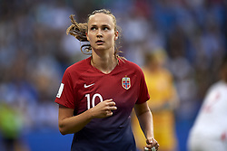 June 27, 2019 - Le Havre, France - Caroline Graham Hansen (Vfl Wolfsburg) of Norway during the 2019 FIFA Women's World Cup France Quarter Final match between Norway and England at  on June 27, 2019 in Le Havre, France. (Credit Image: © Jose Breton/NurPhoto via ZUMA Press)