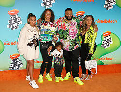 March 23, 2019 - Los Angeles, CA, USA - LOS ANGELES, CA - MARCH 23: Nicole Tuck, Asahd Tuck Khaled, DJ Khaled and Family attend Nickelodeon's 2019 Kids' Choice Awards at Galen Center on March 23, 2019 in Los Angeles, California. Photo: CraSH for imageSPACE (Credit Image: © Imagespace via ZUMA Wire)