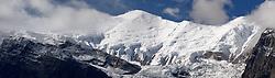 THEMENBILD - Trekkingtour in Nepal um die Annapurna Gebirgskette im Himalaya Gebirge. Das Bild wurde im Zuge einer 210 Kilometer langen Wanderung im Annapurna Gebiet zwischen 01. September 2012 und 15. September 2012 aufgenommen. im Bild Annapurna III (7555 m) // THEME IMAGE FEATURE - Trekking in Nepal around Annapurna massif at himalaya mountain range. The image was taken between september 1. 2012 and september 15. 2012. Picture shows Annapurna III (7555 m), NEP, EXPA Pictures © 2012, PhotoCredit: EXPA/ M. Gruber