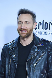 November 4, 2018 - Madrid, Madrid, Spain - David Guetta poses in the press room during the 25th MTV EMAs 2018 held at Bilbao Exhibition Centre 'BEC' on November 5, 2018 in Madrid, Spain (Credit Image: © Jack Abuin/ZUMA Wire)