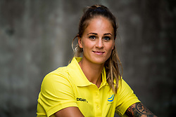 August 6, 2018 - Berlin, GERMANY - 180806 Elin Westerlund of Sweden poses for a portrait during a press event ahead of the European Athletics Championships on August 6, 2018 in Berlin..Photo: Vegard Wivestad Grøtt / BILDBYRÃ…N / kod VG / 170194 (Credit Image: © Vegard Wivestad GrØTt/Bildbyran via ZUMA Press)