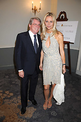 CARL HIRSCHMAN and SABINA McTAGGART at a dinner hosted by the Fortune Forum at The Dorchester, Park Lane, London W1 on 2nd July 2008.<br /><br />NON EXCLUSIVE - WORLD RIGHTS