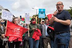 2021-08-06 Unite demonstration against HS2 unionbusting