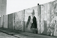 1987 Mural of Ansel Adams at a gas station on the SW corner of Santa Monica Blvd. & Highland Ave.