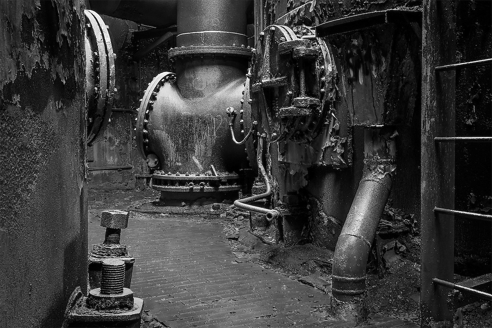 Carrie Furnace Iron Mill #6, Pittsburgh, PA