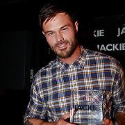 NLD/Amsterdam/20110630 - Uitreiking Jackie's Bachelor List 2011, winnaar Arie Boomsma