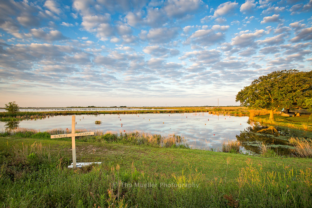 Crawfish ponds and rice fields line the Cajun Corridor as the Byway crosses the Vermillion parish along Hwy. 14