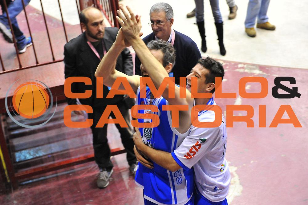 DESCRIZIONE : Milano Final Eight Coppa Italia 2014 Finale Montepaschi Siena - Dinamo Banco di Sardegna Sassari<br /> GIOCATORE : Manuel Vanuzzo Massimo Chessa<br /> CATEGORIA : Ritratto Esultanza<br /> SQUADRA : Dinamo Banco di Sardegna Sassari<br /> EVENTO : Final Eight Coppa Italia 2014 Milano<br /> GARA : Montepaschi Siena - Dinamo Banco di Sardegna Sassari<br /> DATA : 09/02/2014<br /> SPORT : Pallacanestro <br /> AUTORE : Agenzia Ciamillo-Castoria / Luigi Canu<br /> Galleria : Final Eight Coppa Italia 2014 Milano<br /> Fotonotizia : Milano Final Eight Coppa Italia 2014 Finale Montepaschi Siena - Dinamo Banco di Sardegna Sassari<br /> Predefinita :
