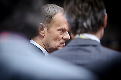 Donald Tusk, Poland's prime minister, attends the first day of the EU Summit, at the European Council headquarters in Brussels, Belgium on Thursday, Dec. 13, 2012. (Photo © Jock Fistick)