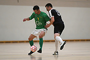 Central player Adam Cowan in action in the Mens Futsal Superleague match, Central v Capital, Pettigrew Green Arena, Napier, Saturday, September 28, 2019. Copyright photo: Kerry Marshall / www.photosport.nz