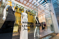 Herve Leger fashion  shop in Dubai Mall Dubai United Arab Emirates