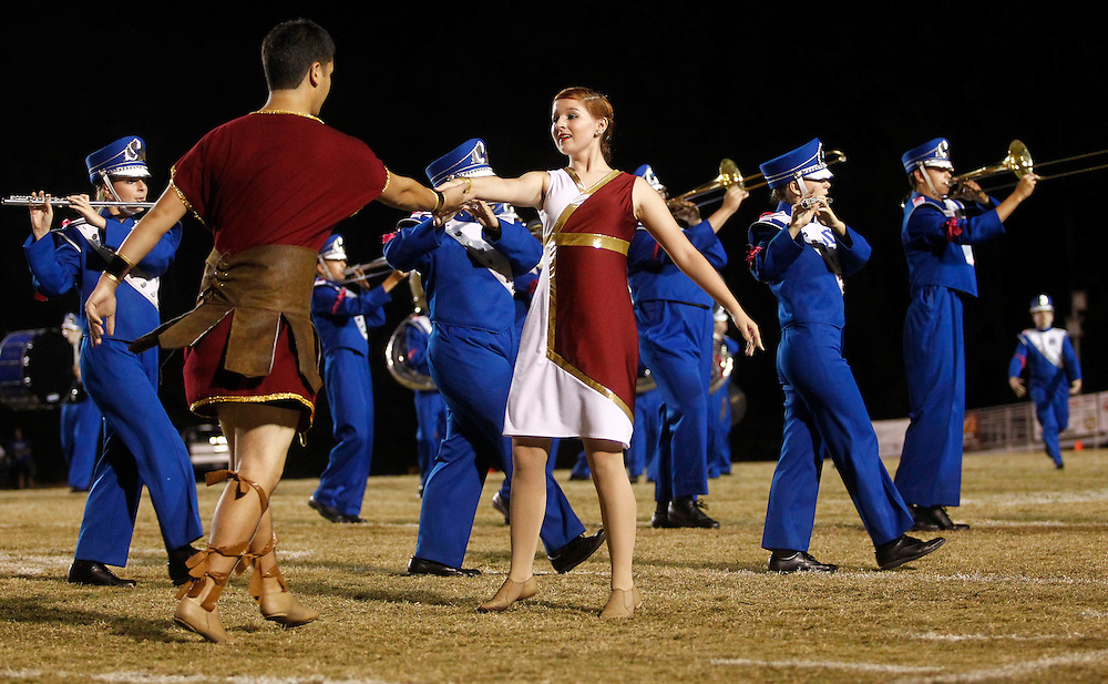 Mandeville High School Marching Band Photos 2012. <br /> photos by: Crystal LoGiudice Photography<br /> 2032 Jefferson Street<br /> Mandeville, LA 70448<br /> www.clphotosonline.com