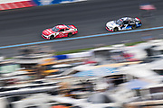 September 28-30, 2018. Charlotte Motorspeedway, Xfinity Series, Drive for the Cure 200: Matt Tifft, Richard Childress Racing, Chevrolet, Justin Allgaier, JR Motorsports, Chevrolet